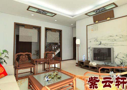 新中式客厅设计