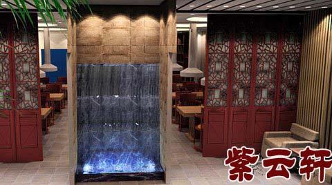 餐馆门厅手绘效果图