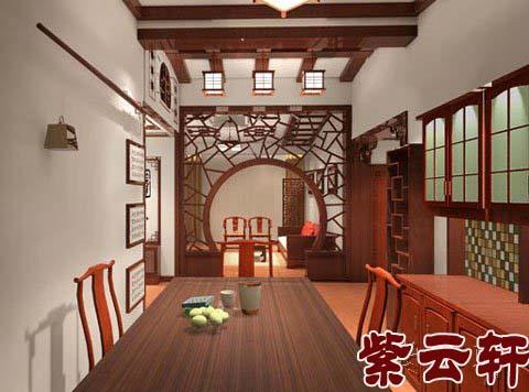 四合院古典中式设计-北京作品