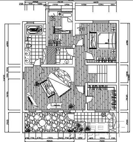 中式装修平面图