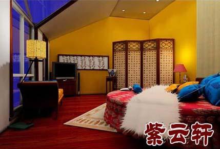 中式装修客房