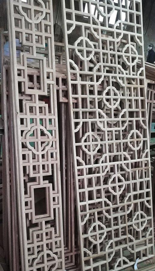 木工车间实景—木工半成品