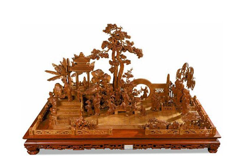 木材雕刻—解析传统红木家具基本雕刻技法