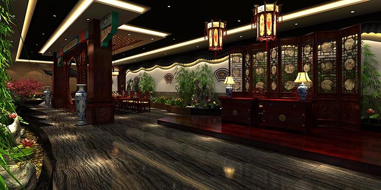 天津高端私人商务会所古典中式装修 自带一份儒雅贵族气质