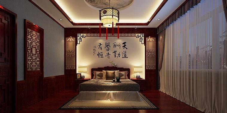 现代中式风格蓟县恒大别墅豪宅设计 丰神端然澈净心灵