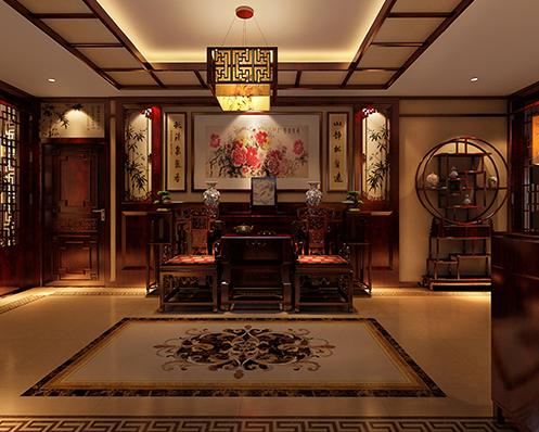 北京精品住宅简约中式装修案例 一道精心营造的清雅风景