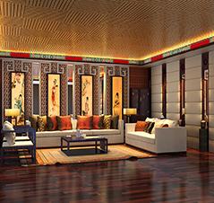 廊坊高端别墅现代中式设计装修案例—磅礴大气又无比清新自然