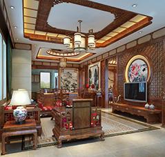 重庆简约古典中式风格别墅——充满艺术风采的殿堂