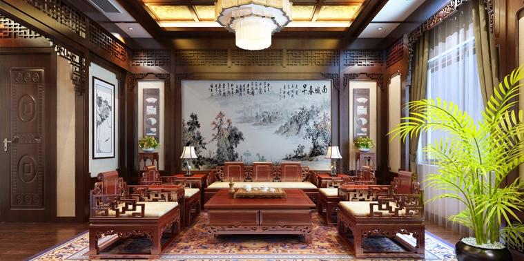 上海王公馆会所新中式装修案例——宁静纯朴,静谧怡然