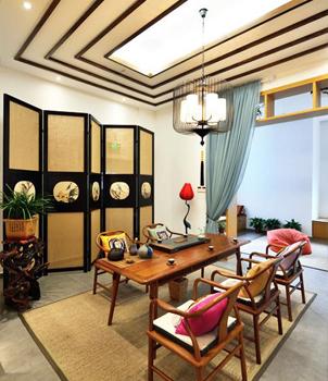中式传统居室空间设计解构 营造修身养性的高雅生活境界