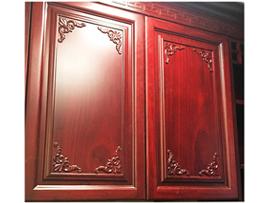 纯实木橱柜-实木雕花橱柜-洗手柜