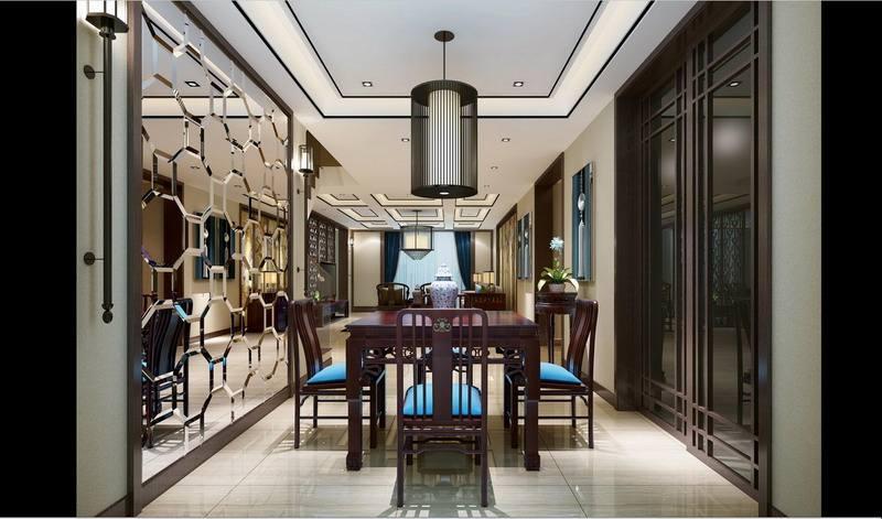 中式风格别墅装修设计时一定要避免走进以下三点误区