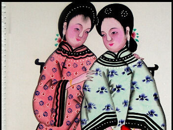 中国传统工艺扑灰年画的起源及工艺特点