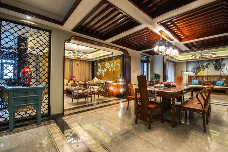 从四个方面讲述新中式别墅的设计原则与方法