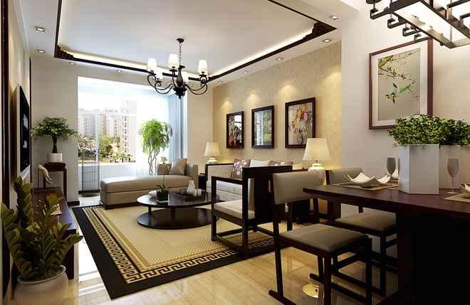 中式装修上客厅吊顶应该怎么进行验收和清洁