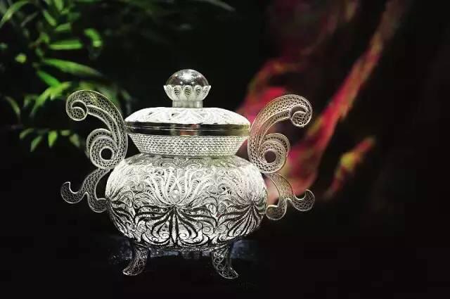 赏析中国传统工艺银花丝