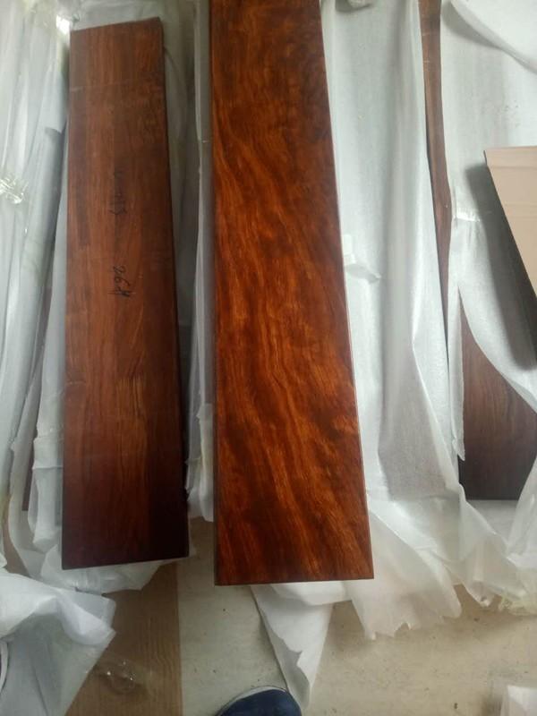 原木打磨成品包装