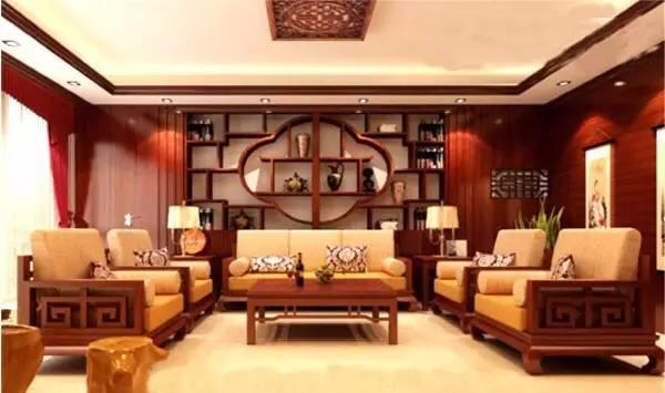 中式设计室内红木家具摆放风水讲究有哪些
