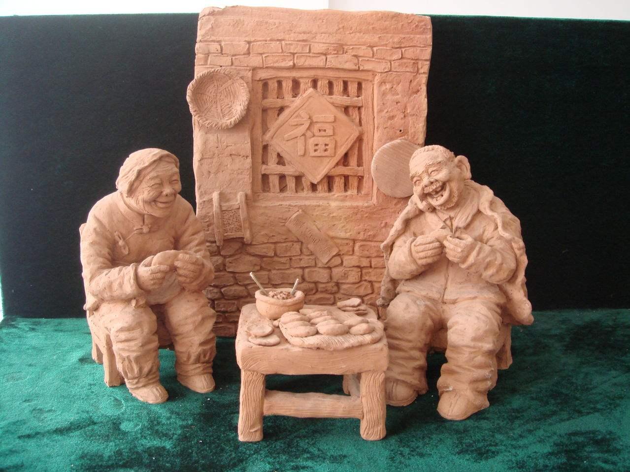 中国民间传统艺术泥塑的历史发展源流