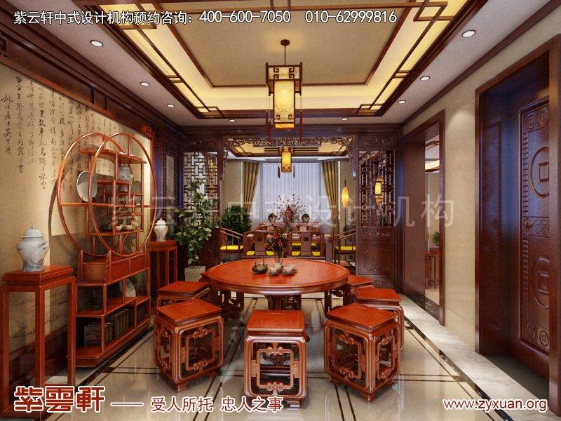茶室中式风格效果图