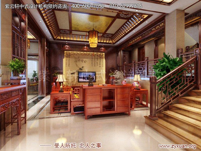 客厅简约中式风格案例图
