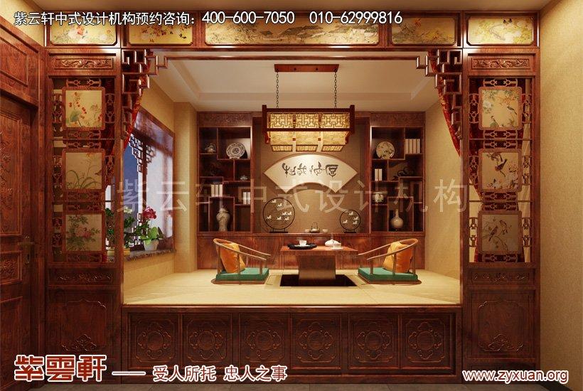 中式装修棋牌室