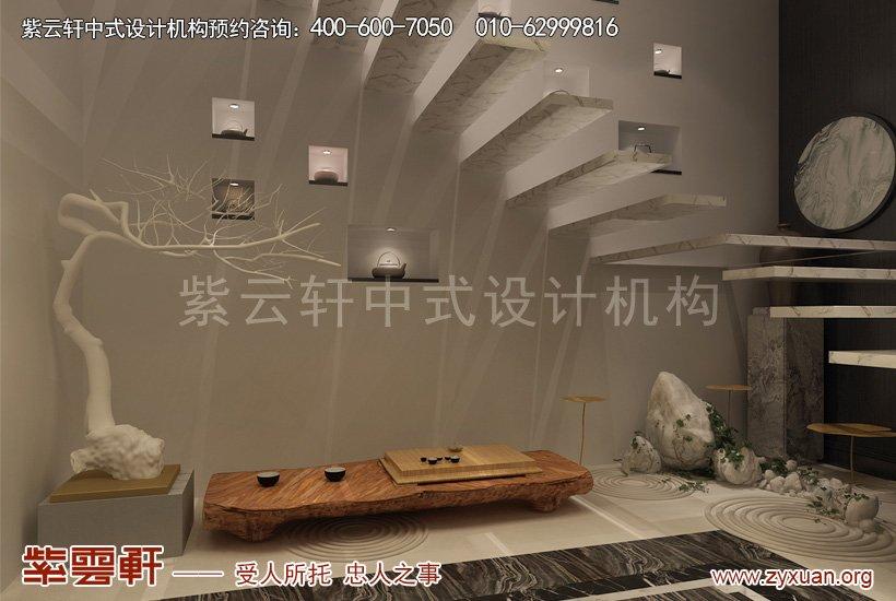 中式装修楼梯间