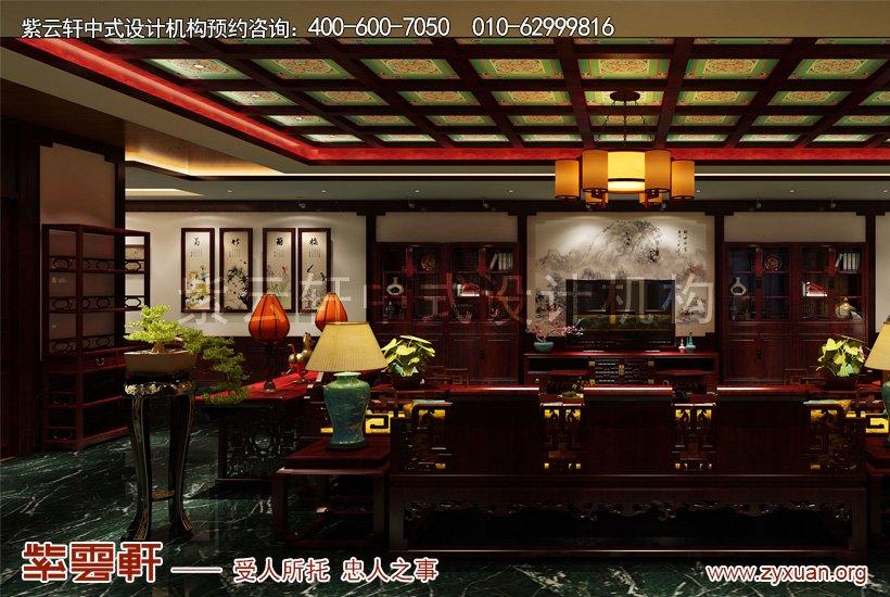 中式装修大厅
