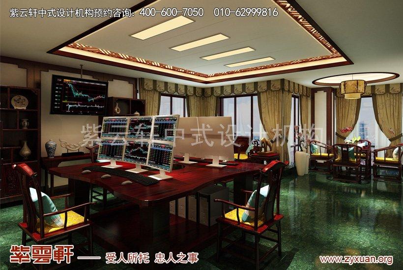 中式装修操盘室