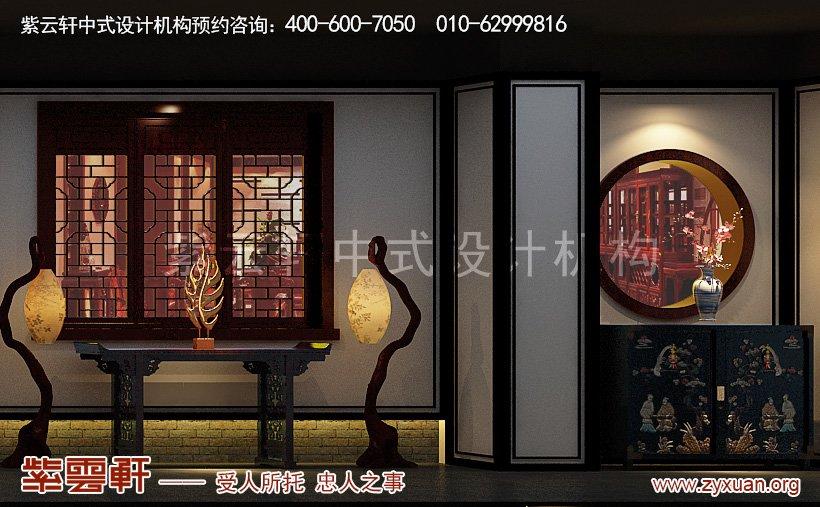 中式装修展示区