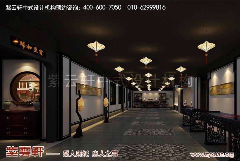 中式装修通道区