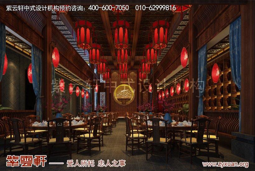 大厅中式设计