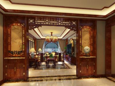 北京怀柔会所中式装修设计 携带贵族气质的田园古镜