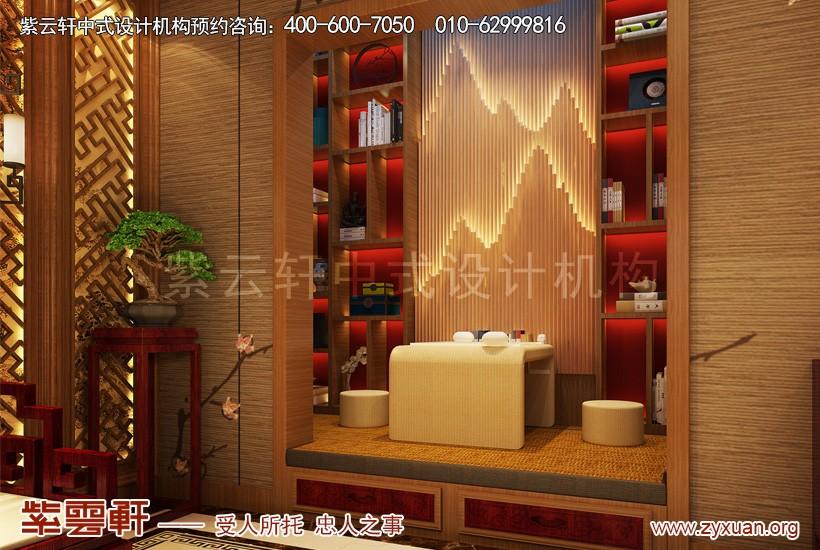 中式装修影音室