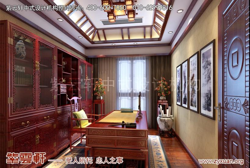 中式设计书房