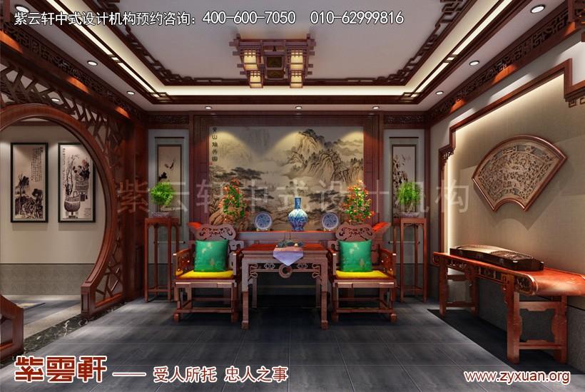 中式设计中堂
