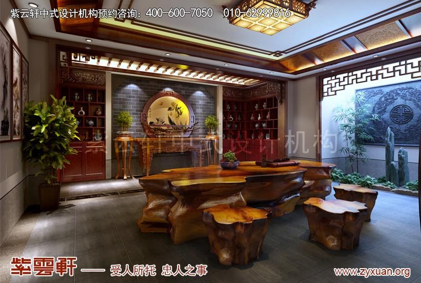 中式设计收藏室