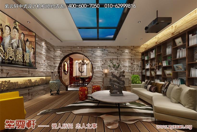 中式设计阳光房