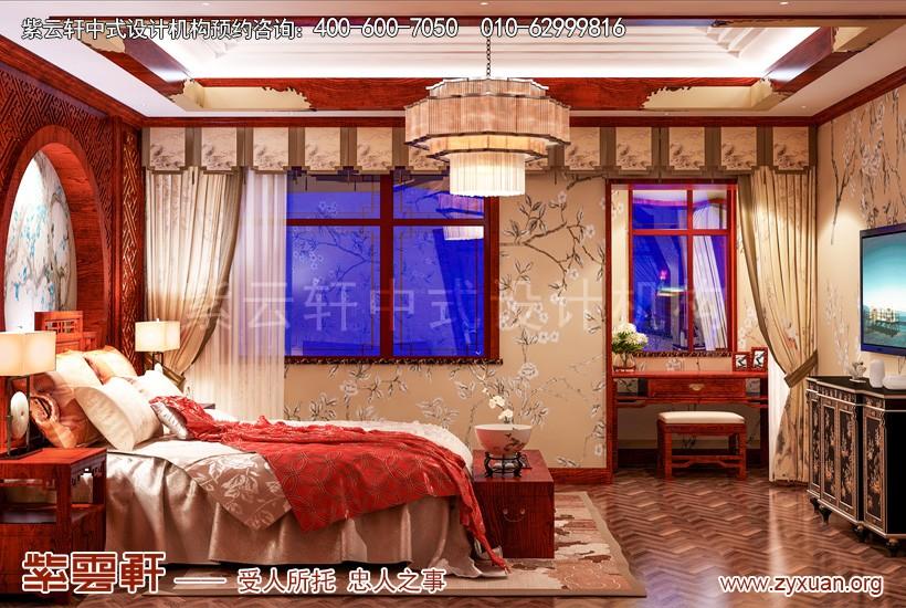 卧室豪华装修实景图