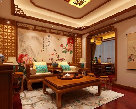 常州古典中式装修别墅设计 凝集书香门第的清逸与妍秀