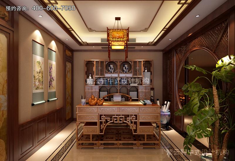 中式复古装修效果图赏析_紫云轩中式装修设计机构