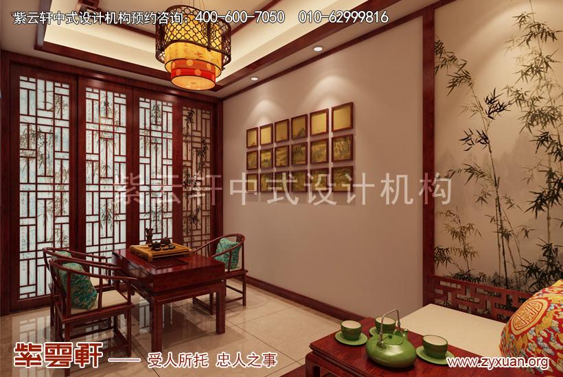 新版别墅装修效果图欣赏,红木雕琢显宁静华贵姿态