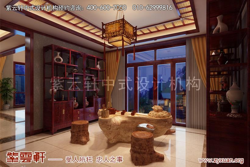 茶区中式设计