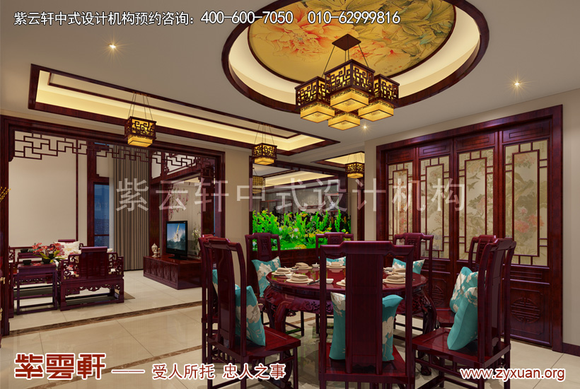 西安白桦林间刘姐复式古典中式设计风格,悠远凝香彰显大家风范