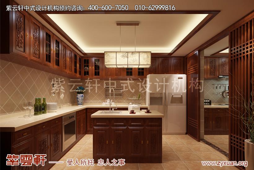 顺义简约古典中式装修别墅设计 木色纯香袅袅烟图片
