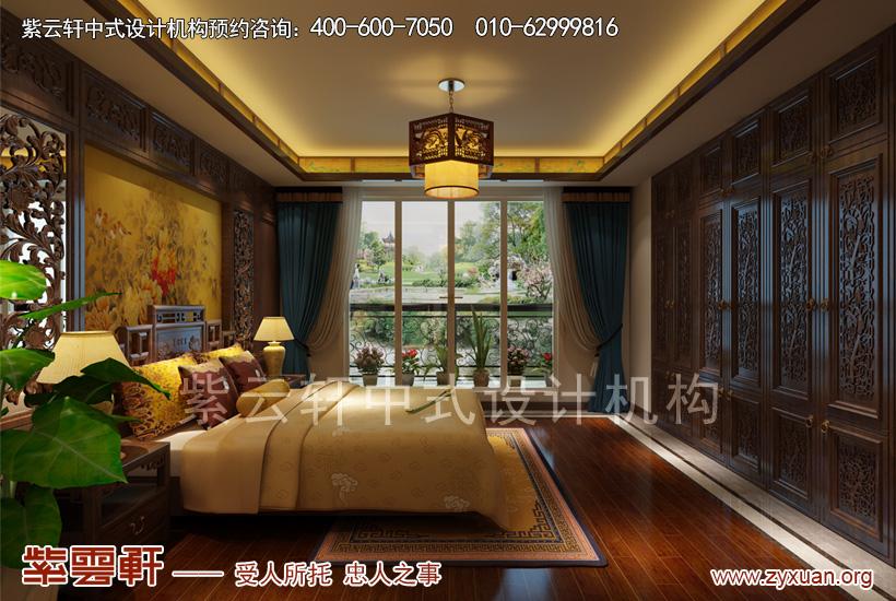 别墅主卧室中式设计
