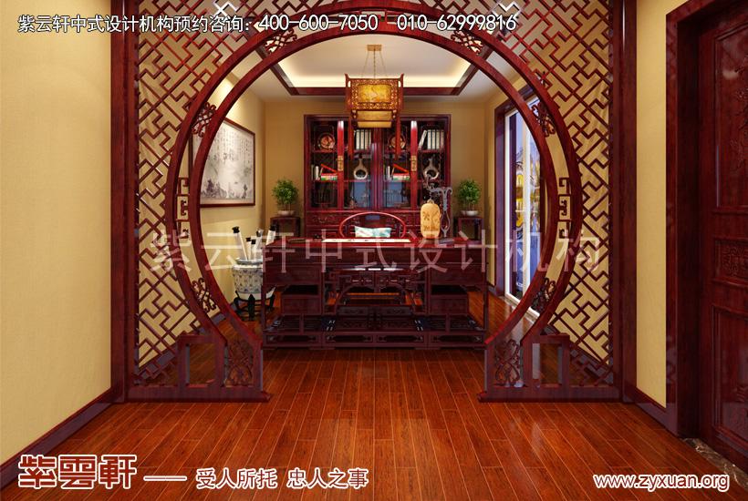 别墅中式装修设计图