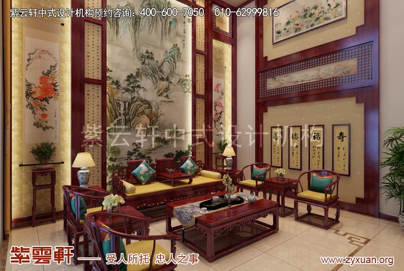 天津武清王记宅邸别墅现代中式设计,清贵气质洋溢远古盛情