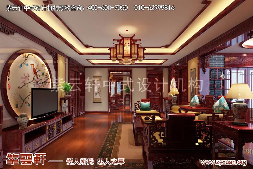 现代中式风格装修图片