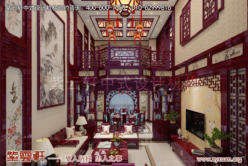 2017年豪华装修图片大全—广东现代中式别墅装修效果图